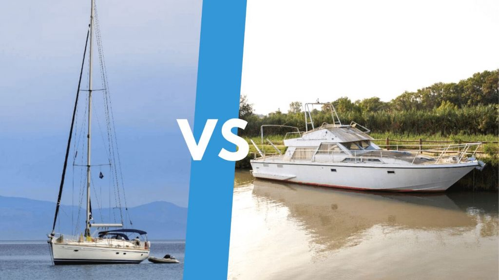 Sailboat vs. Powerboat: What's the Best Liveaboard ...