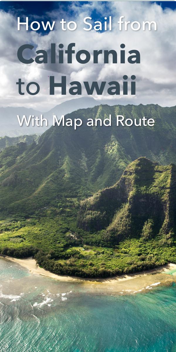 Pinterest image for Sailing Guide: California to Hawaii (San Francisco, LA & Seattle)