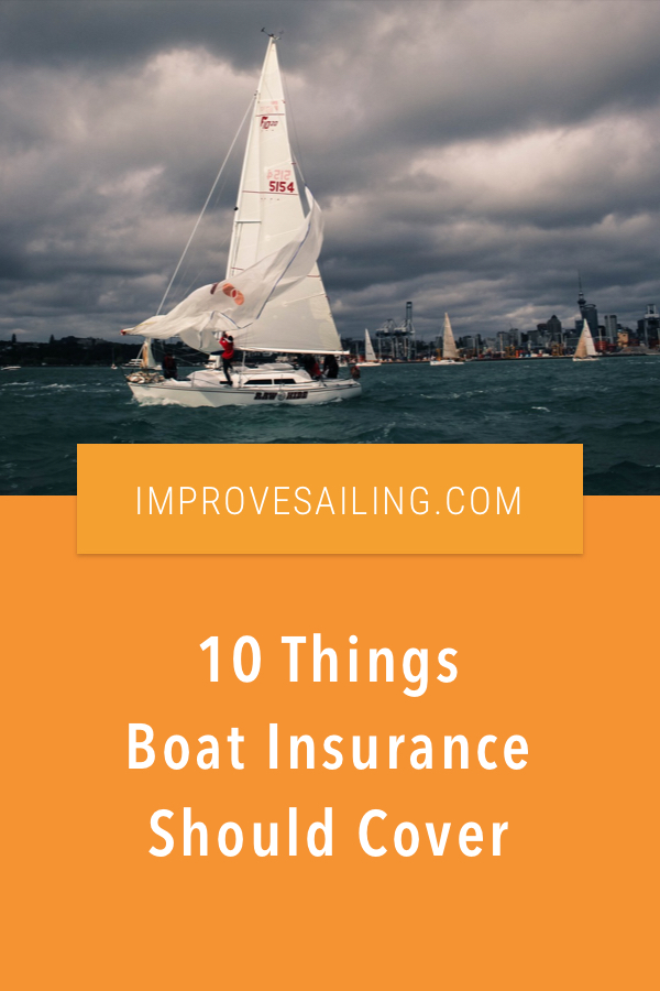 Pinterest image for Boat Insurance Should Cover These 10 Basic Things