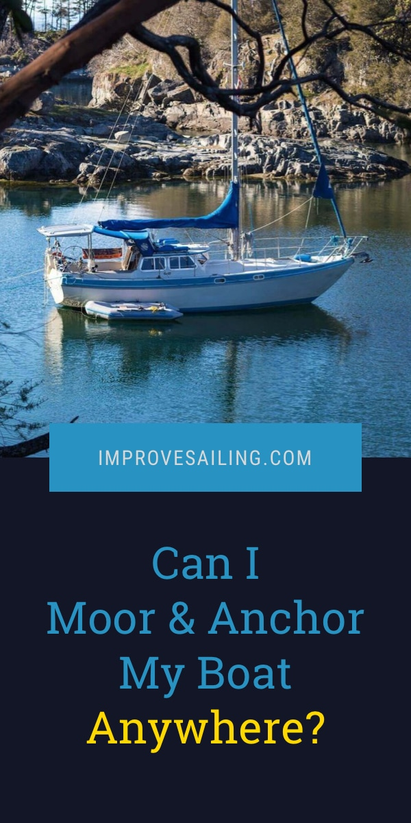 Pinterest image for Can I Moor & Anchor My Boat Anywhere?