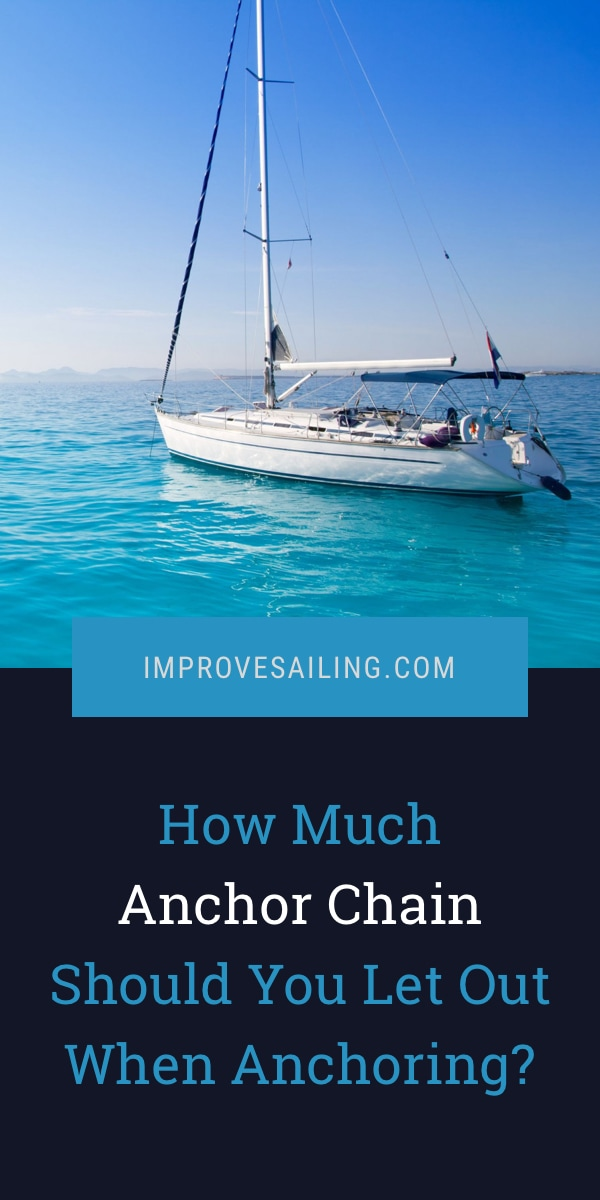 Pinterest image for How Much Anchor Chain Should You Let Out When Anchoring?