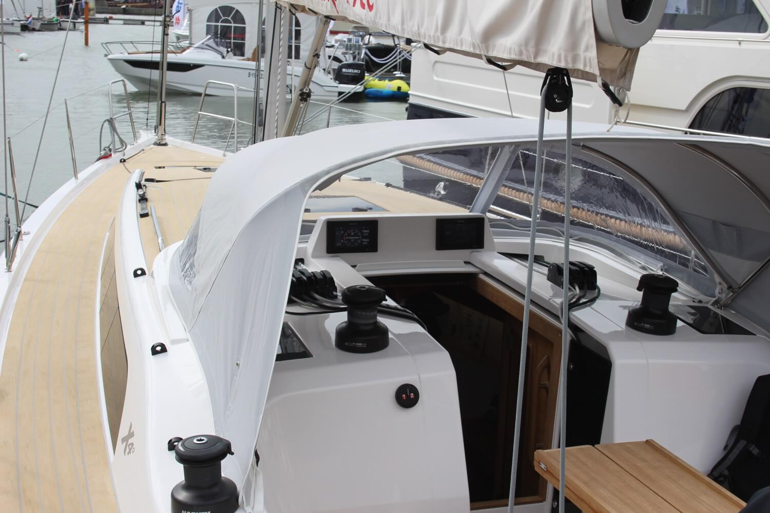The X-Yachts X40 Deck