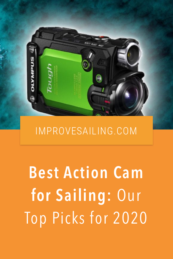 Pinterest image for Best Action Cam for Sailing: Our Top Picks for 2020