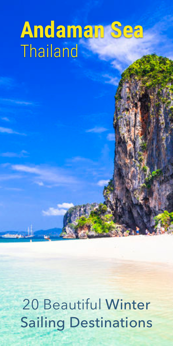 Pinterest image for 22 Beautiful Sailing Destinations for This Winter