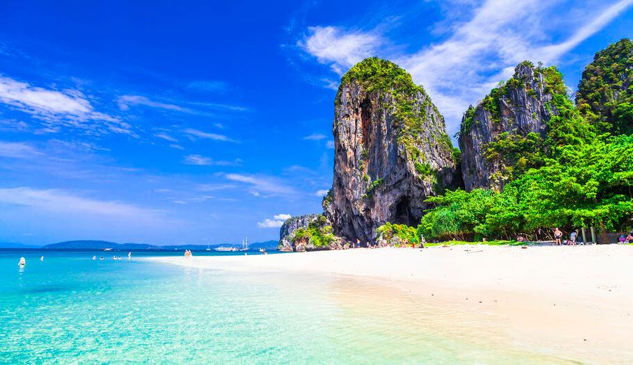 Beach in Andaman Sea, Thailand