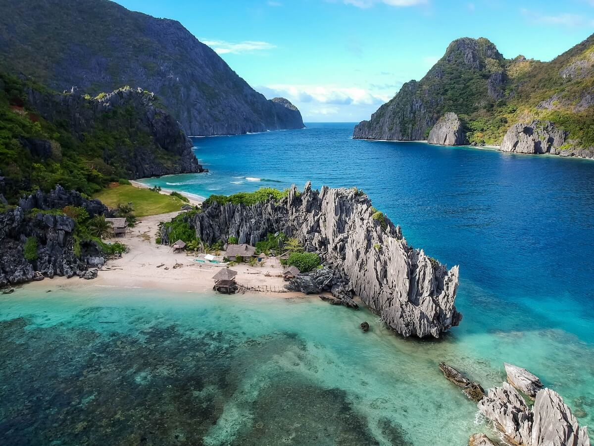 Bay in Palawan, Philippines