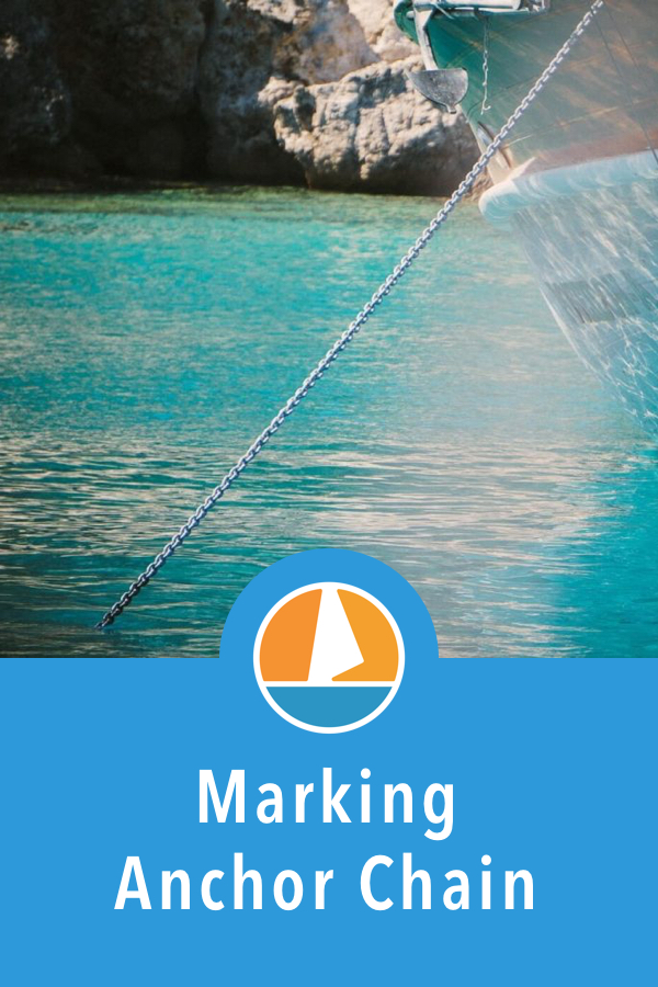 Pinterest image for How To Mark & Measure Anchor Chain & Rode (3 Ways)