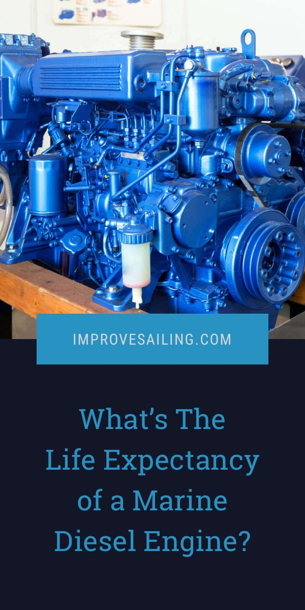 Pinterest image for What's The Life Expectancy of a Marine Diesel Engine?